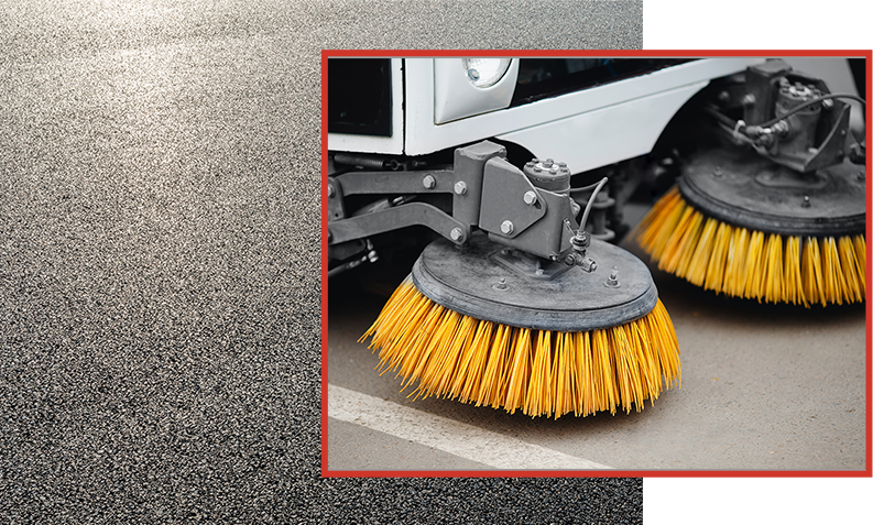 road sweeper hire commercial contracts & private hire